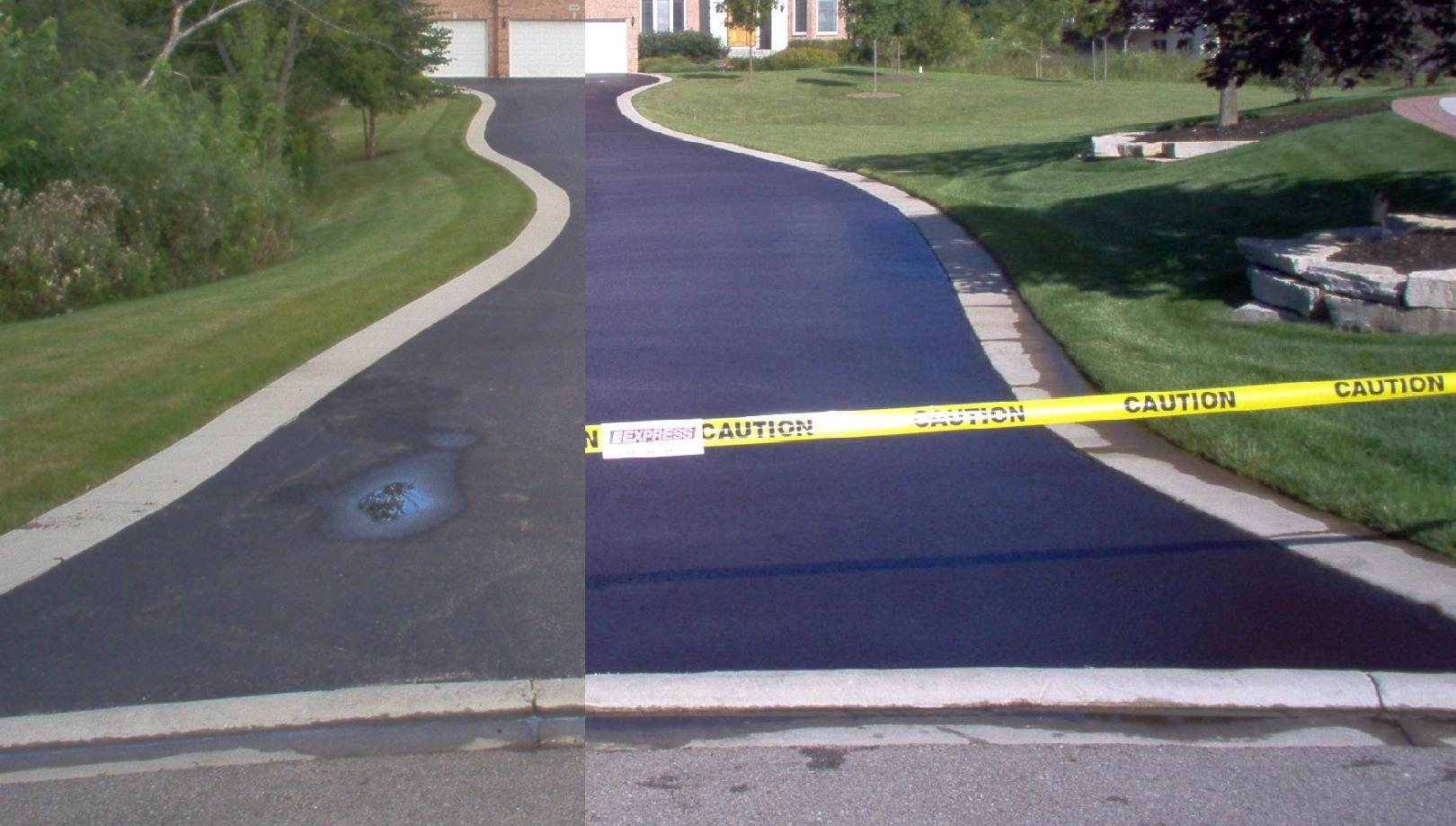 Sealcoating By Precision Paving